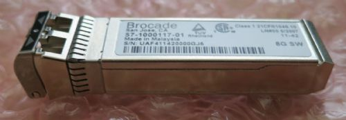 10 x Brocade 2G/4G/8G Fibre Channel 57-1000117-01 XBR-000163 Shortwave SFP+
